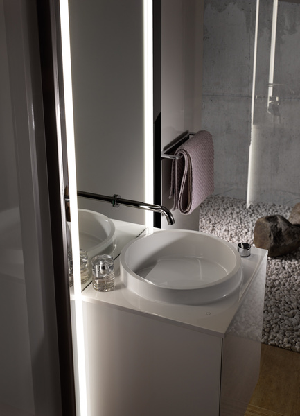 Emco Bad At The ISH 2015: All Staged Basin Features Compact In A Guest Unit