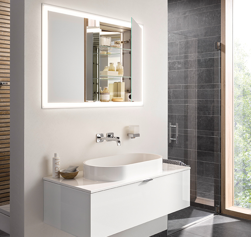 High-quality bathroom furniture from the emco prime range